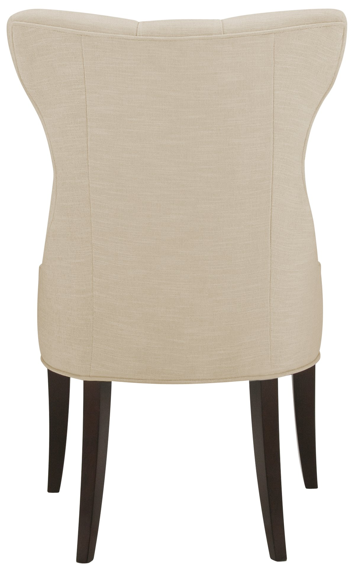 Deco Light Beige Upholstered Side Chair