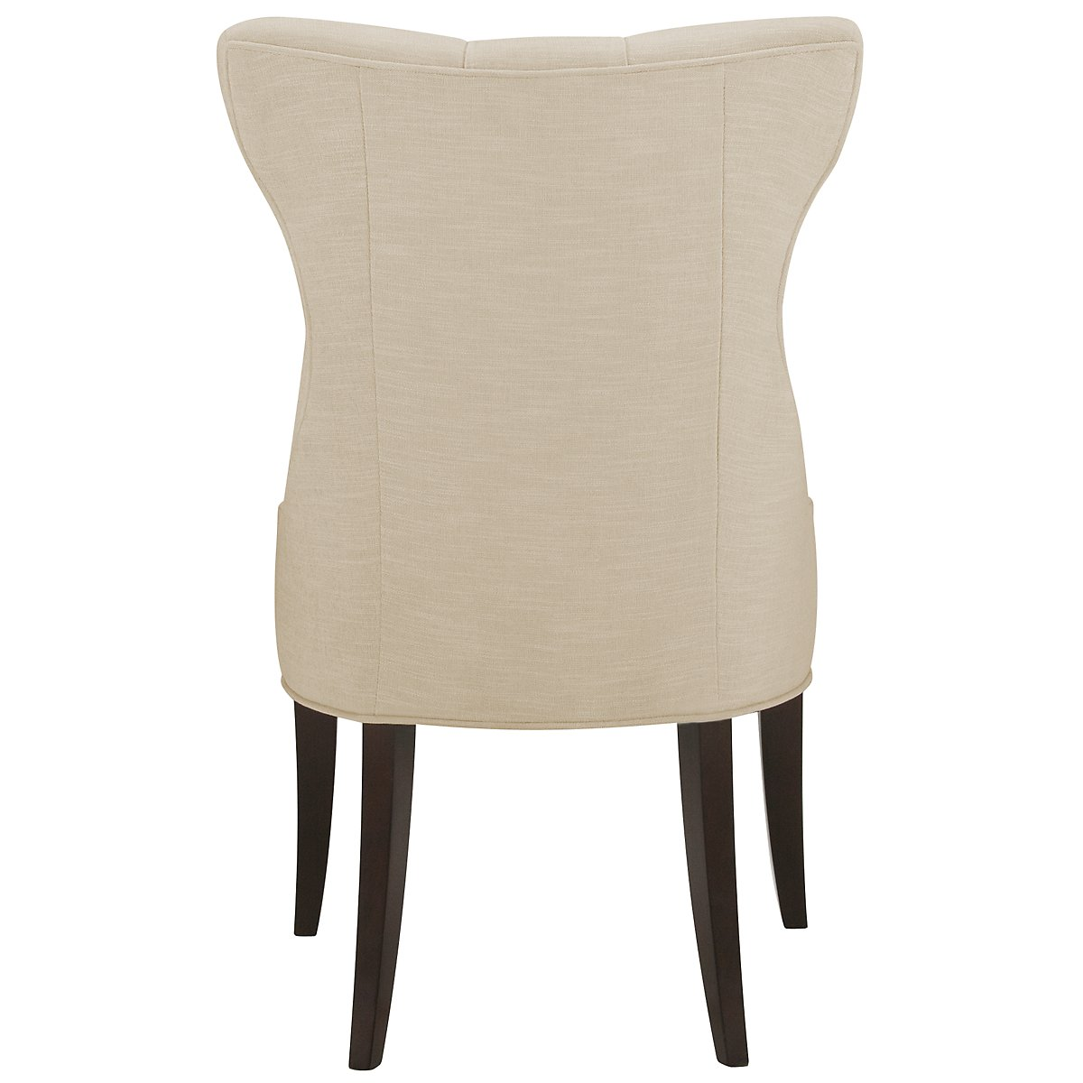 Deco Light Beige Upholstered Side Chair