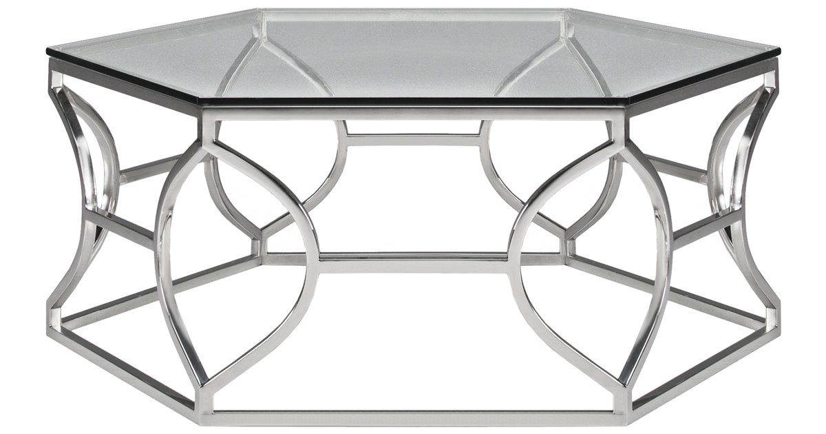City Furniture Argent Glass Coffee Table