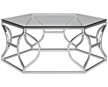 City Furniture Argent Glass End Table