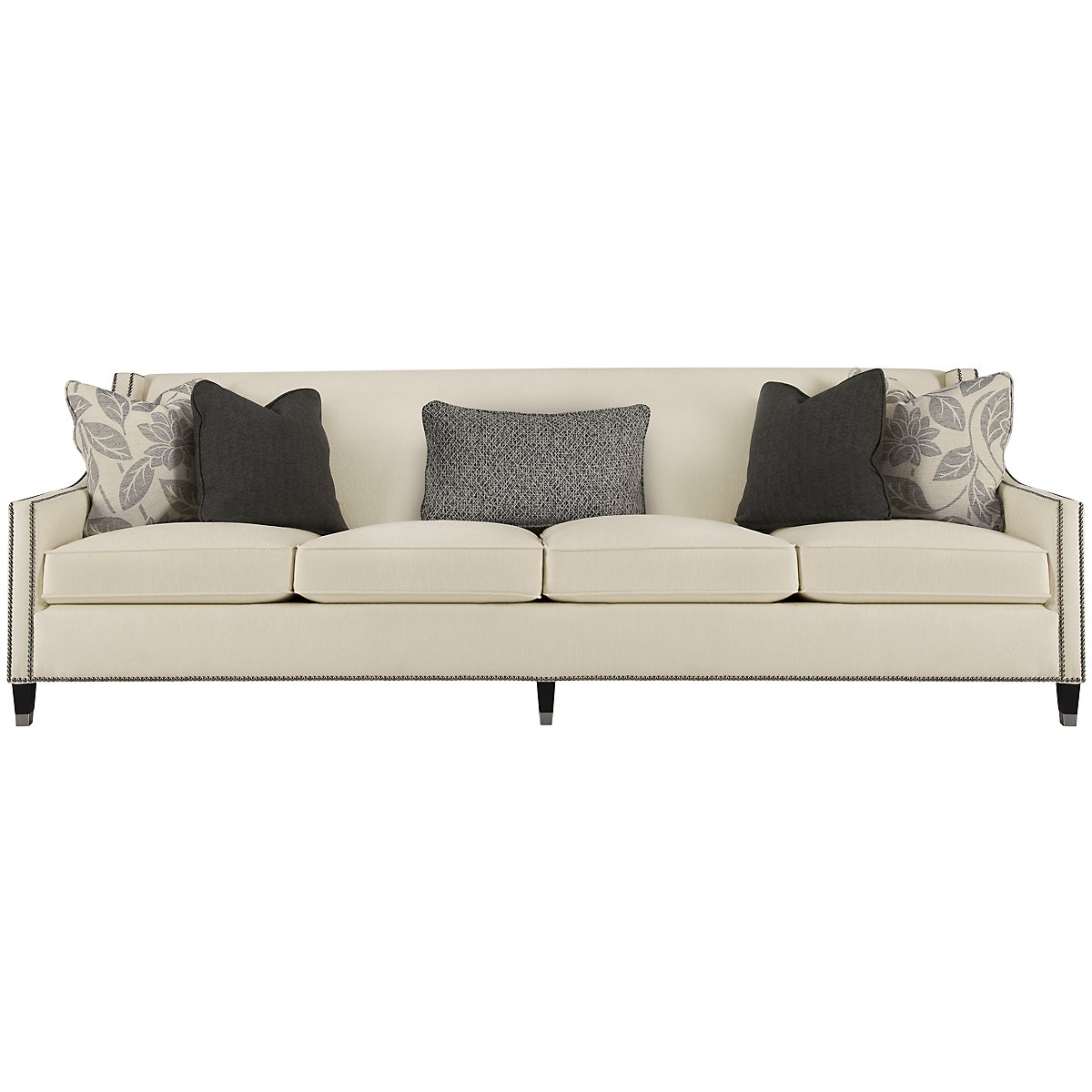 Palisades Light Beige Fabric Large Sofa