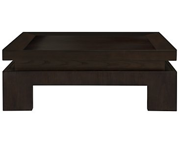 Mercer Dark Tone Square Coffee Table