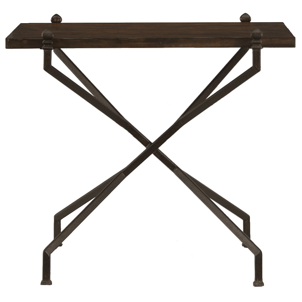 Vestige Dark Tone Rectangular End Table