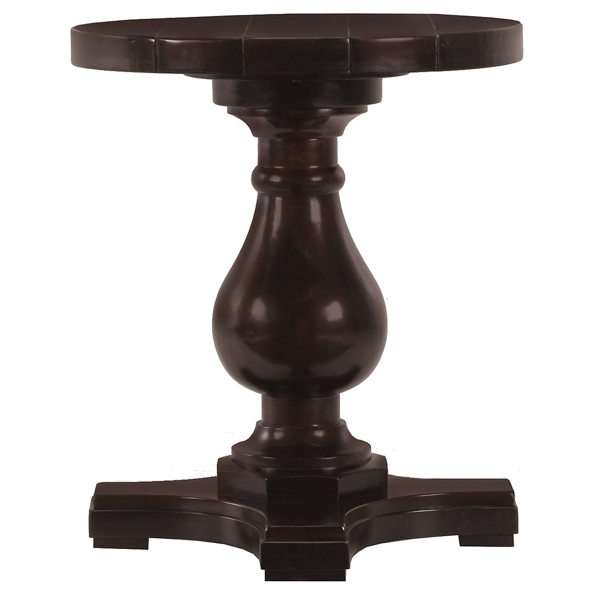 Freeport Dark Tone Round End Table
