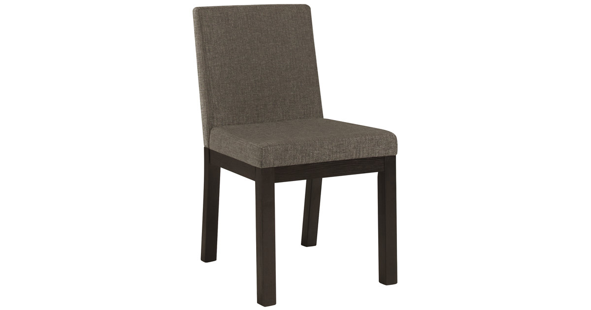City Furniture Tocara Dk Gray Upholstered Side Chair