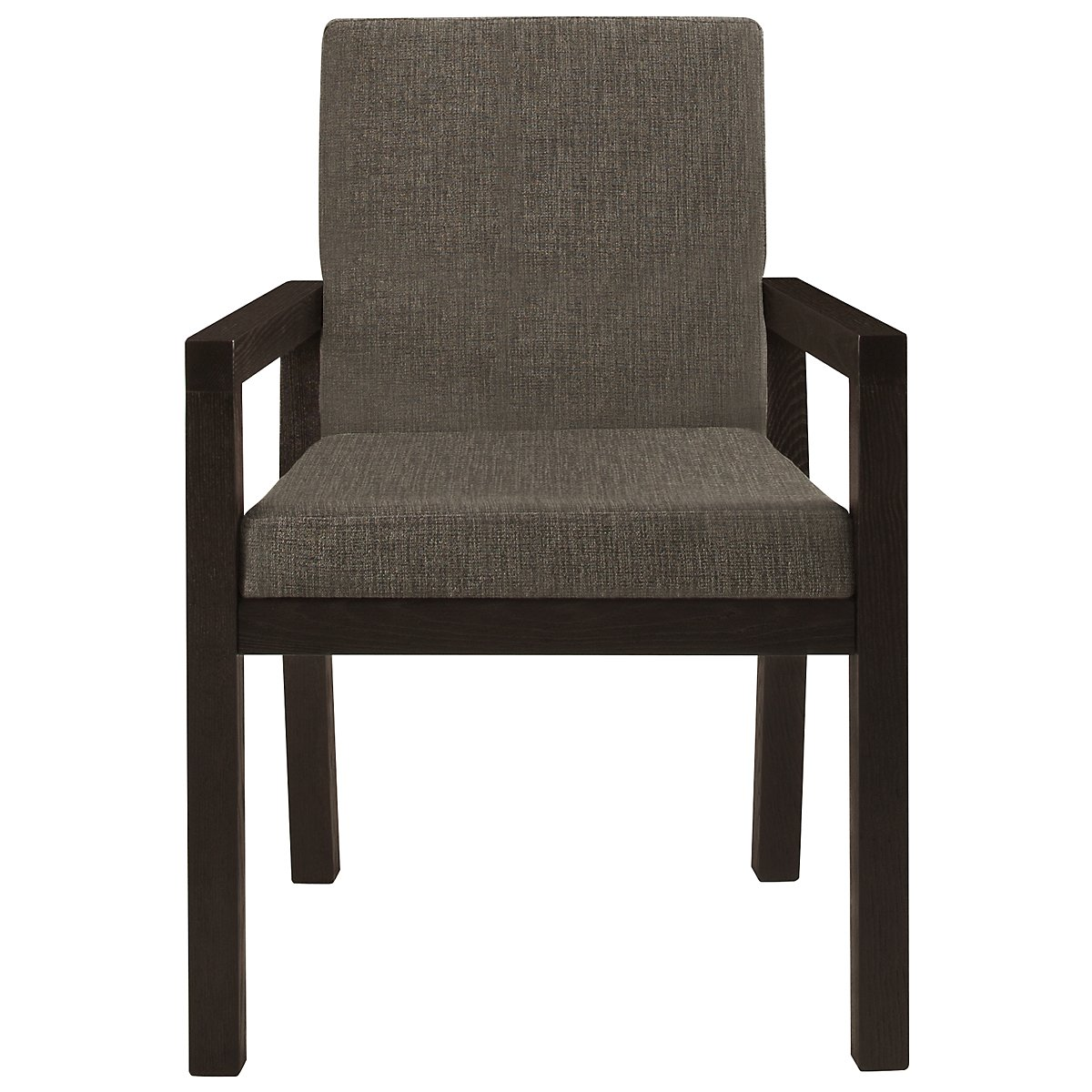 Tocara Dark Gray Upholstered Arm Chair