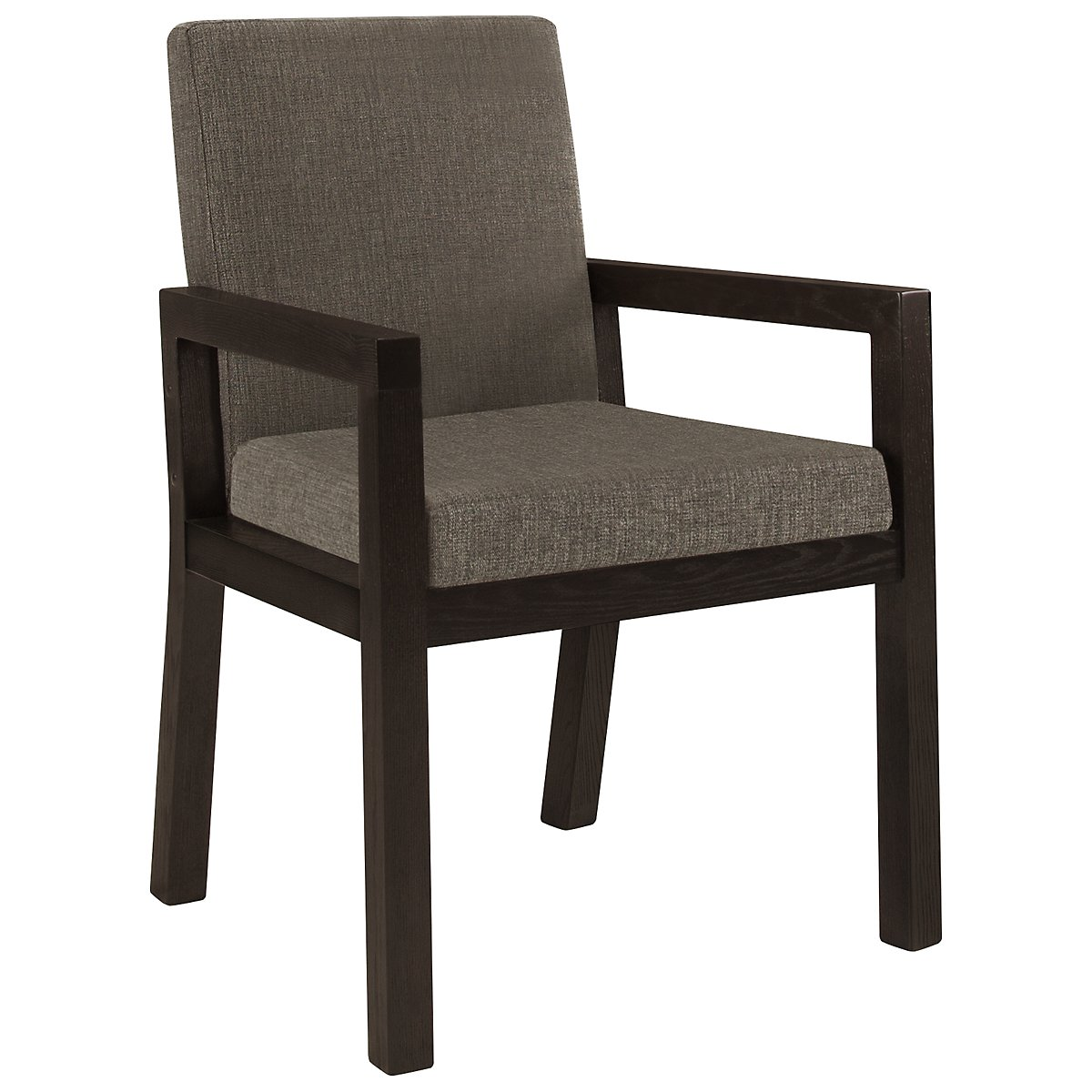 City furniture tocara dk gray upholstered arm chair