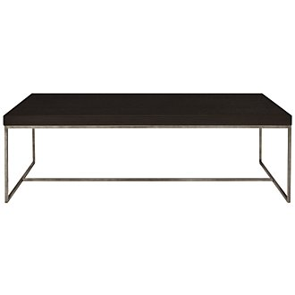 Tocara Dark Tone Rectangular Coffee Table