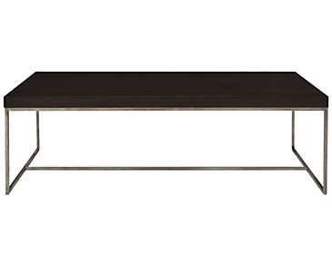 Tocara Dark Tone Rectangular Coffee Table