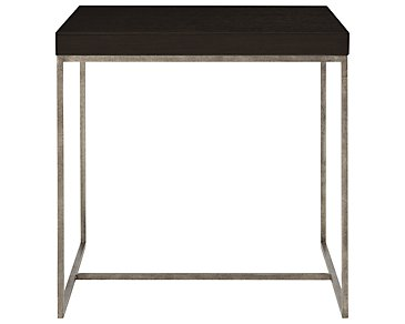 Tocara Dark Tone Square End Table