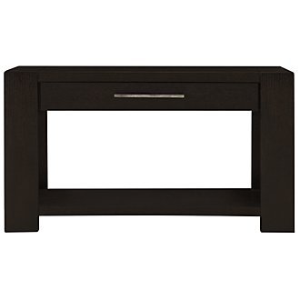 Tocara Dark Tone Storage Sofa Table