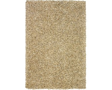 Utopia Light Beige 8X10 Area Rug