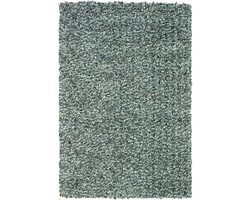 Utopia Light Blue 8X10 Area Rug