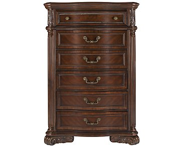 Regal Dark Tone Drawer Chest