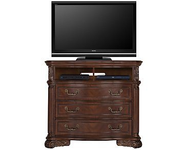 Regal Dark Tone Media Chest