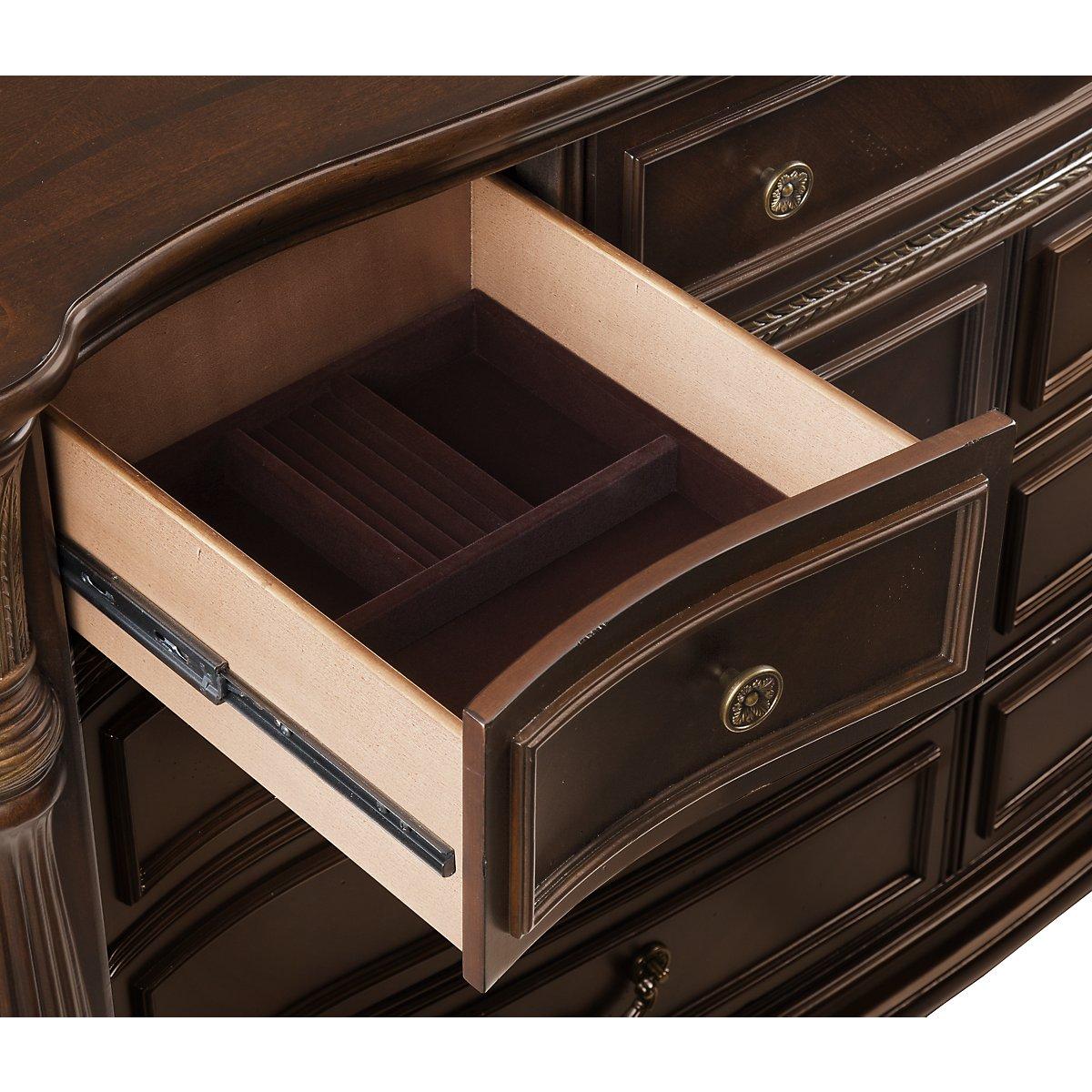 Tradewinds Dark Tone Wood Dresser
