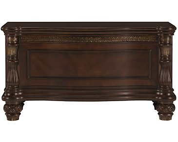Tradewinds Dark Tone Blanket Chest