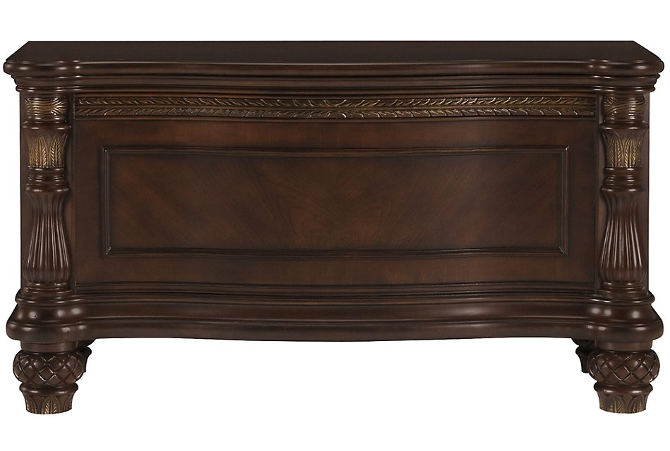 Tradewinds Dark Tone Wood Blanket Chest | Bedroom - Chests ...