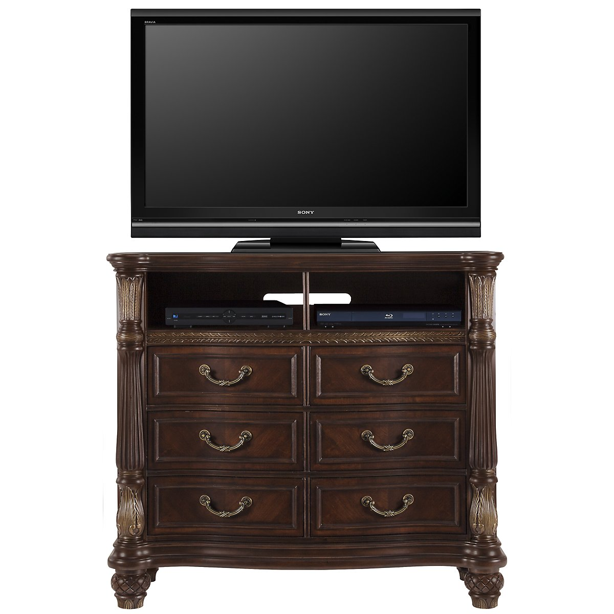 Tradewinds Dark Tone Media Chest