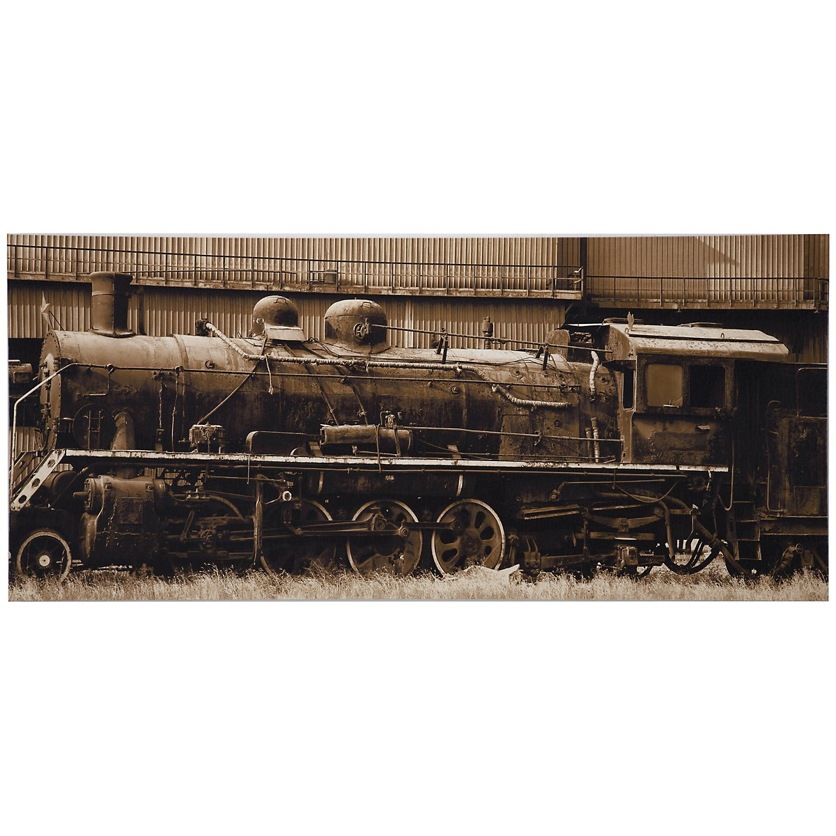 Old Timer Canvas Wall Art