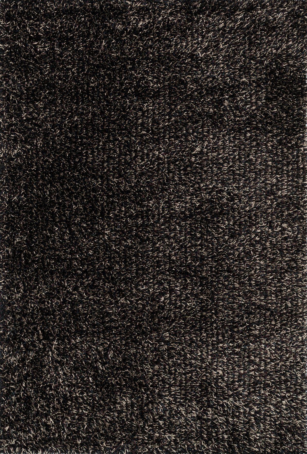 Carrera Black Poly 5x8 Area Rug