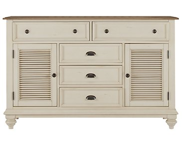 Coventry Two-Tone Door Dresser