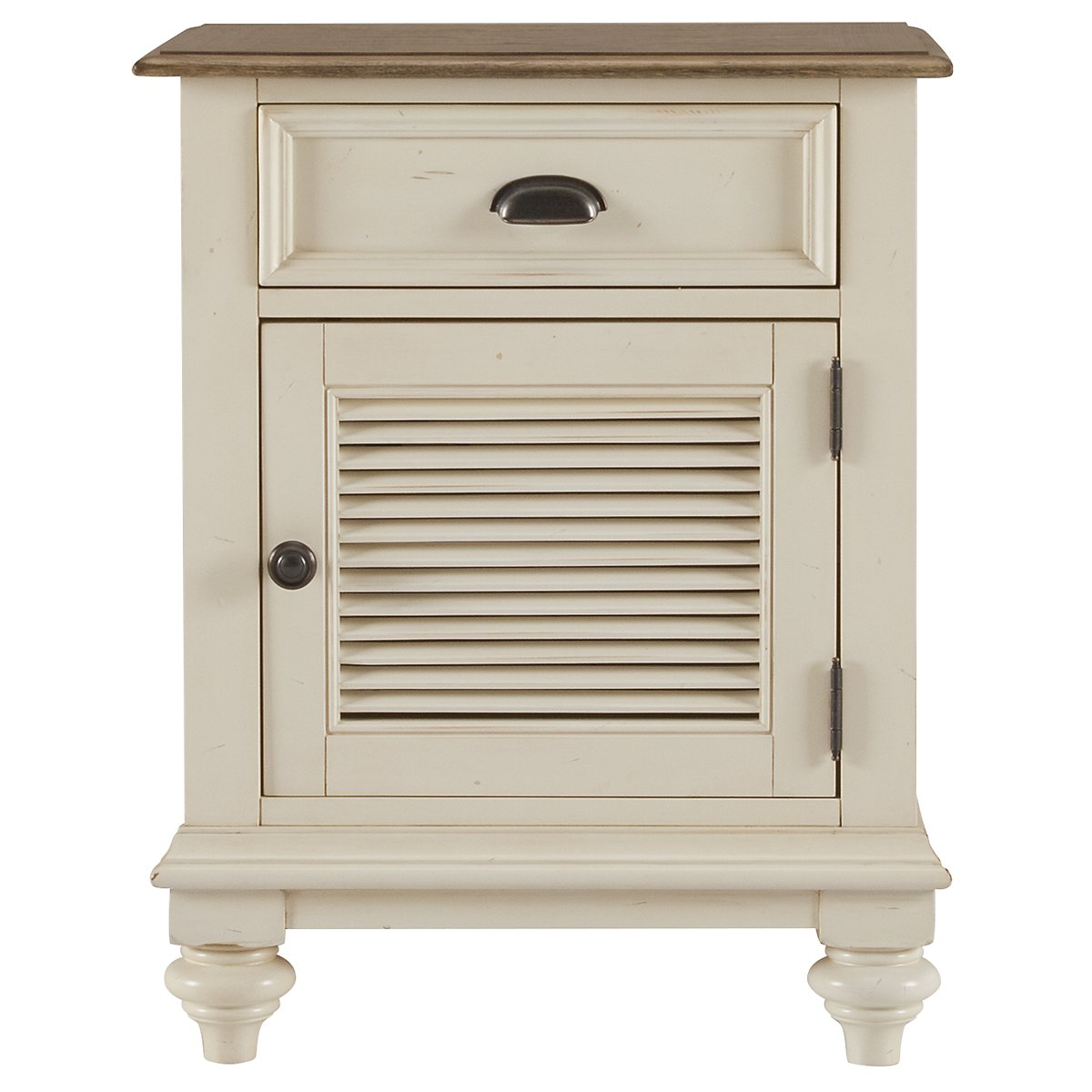 Coventry Two-Tone Door Nightstand