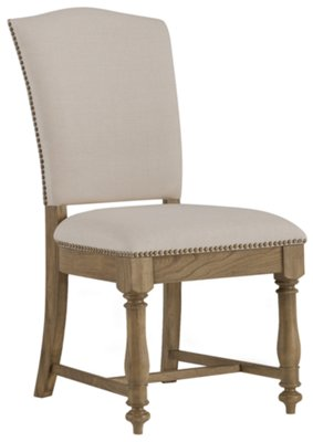 Coventry Two Tone Rectangular Table U0026 4 Upholstered Chairs