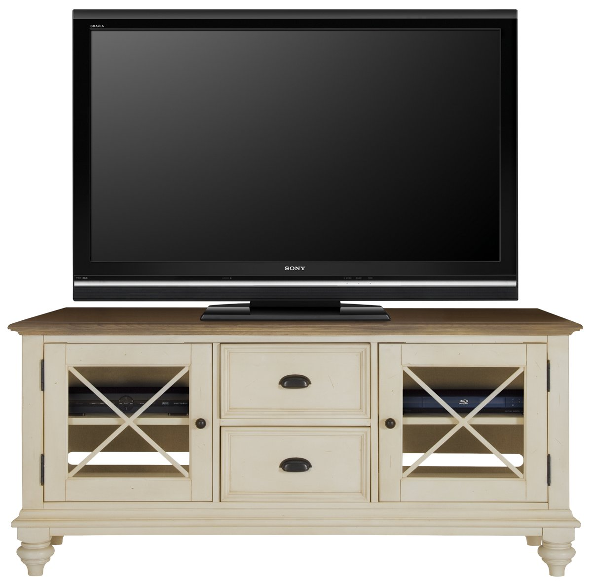 Well known City Furniture: Coventry Two-Tone TV Stand YK56