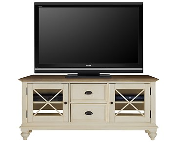 "Coventry Two-Tone 60"" TV Stand"