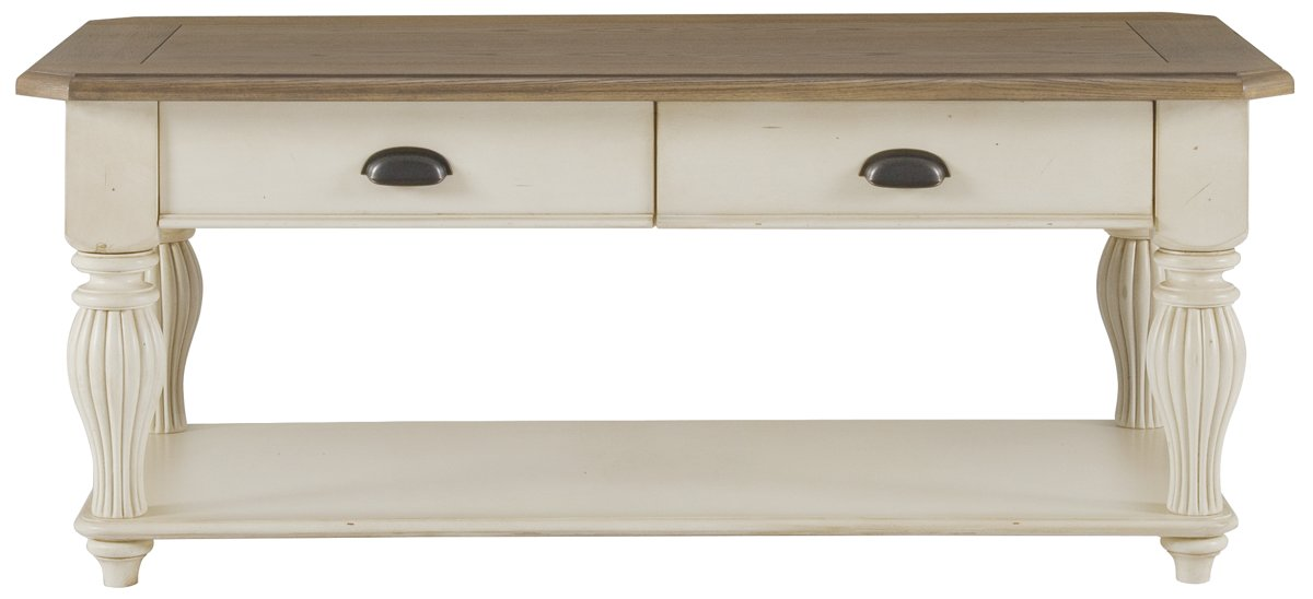 Coventry Two-Tone Rectangular Coffee Table