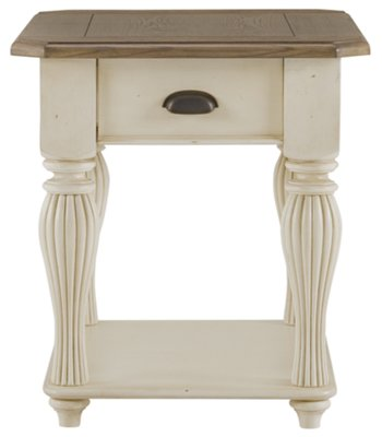 Coventry Two Tone Large End Table