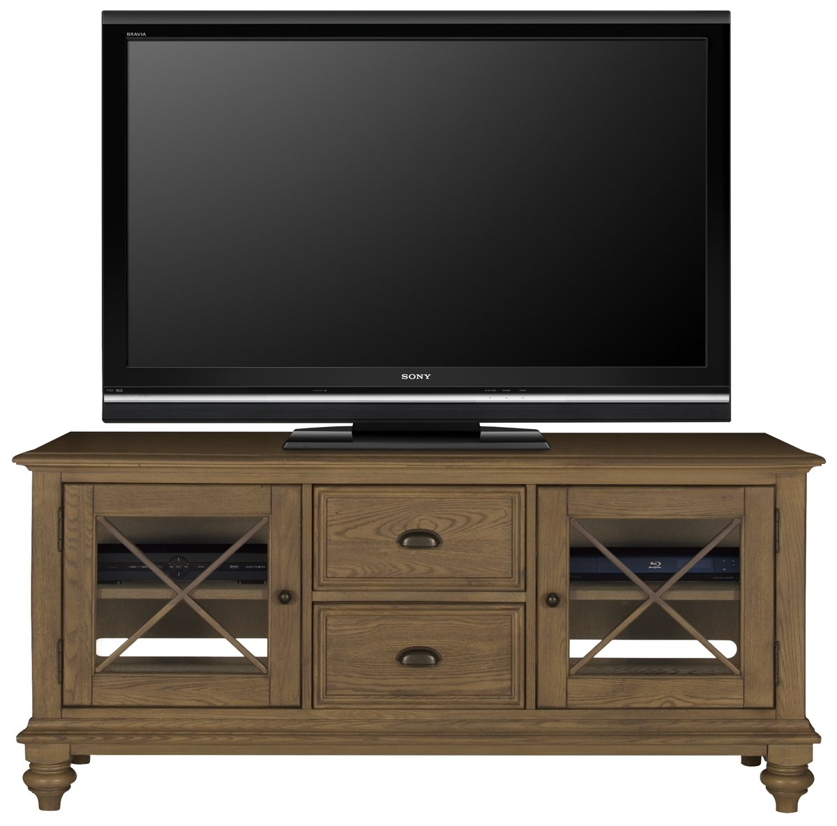 """Coventry Light Tone 60"""" TV Stand"""