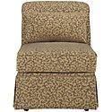 Farrah Light Taupe Fabric Accent Chair