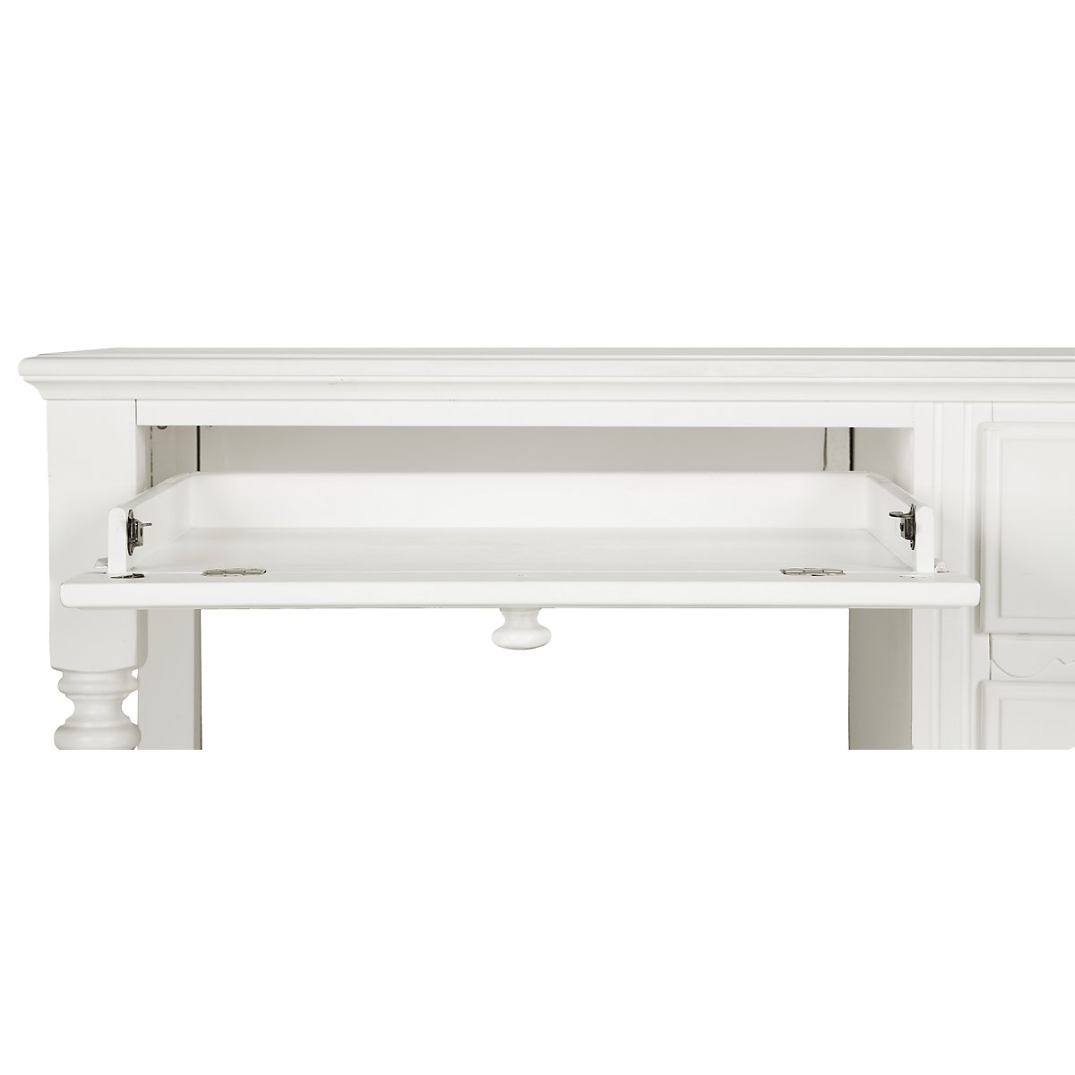 hayley hutch homelegance kids in desk drawer dh hm w white