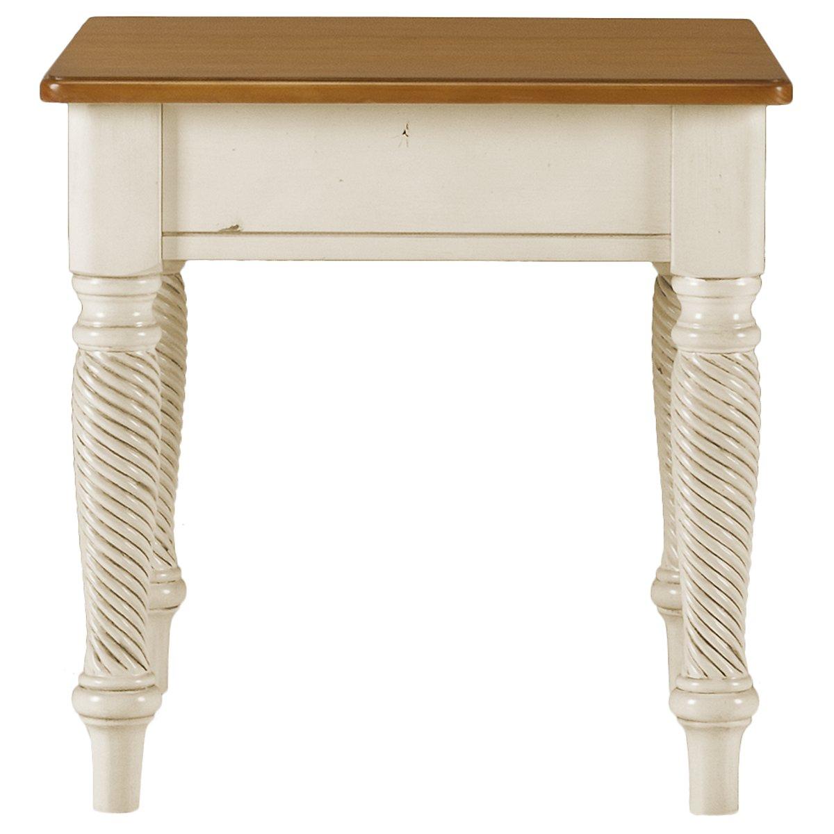 Willshire White End Table