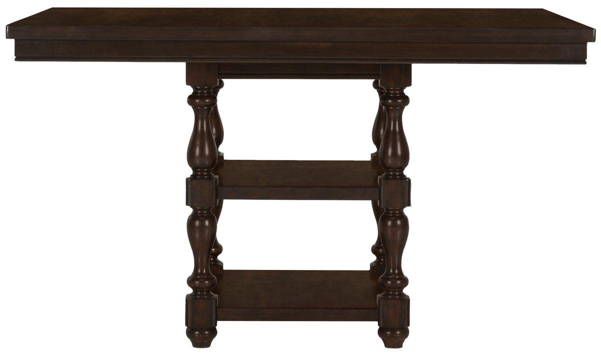 City Furniture Mcgregor Dark Tone High Table & 4 Upholstered