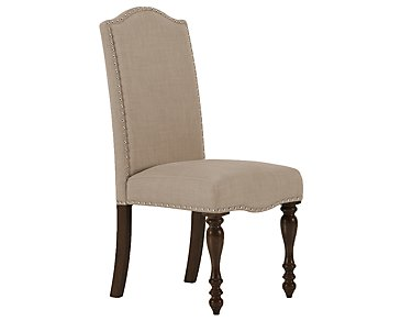 Mcgregor Beige Upholstered Side Chair