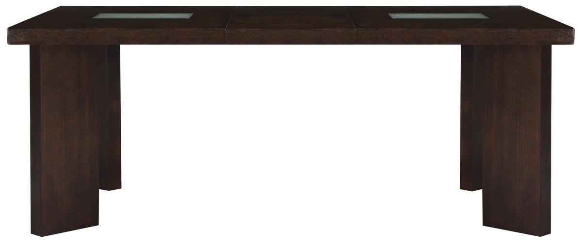 Delano2 Dark Tone Wood Rectangular Table