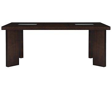 Delano2 Dark Tone Rectangular Table