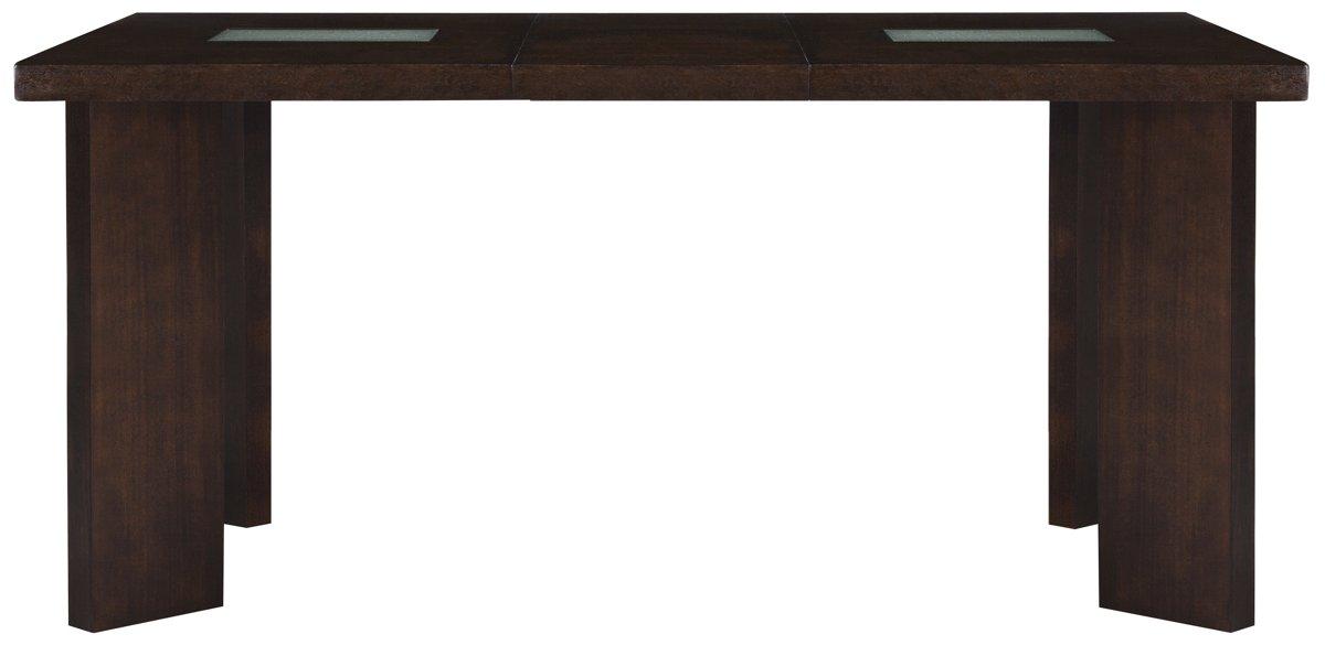 Delano2 Dark Tone Wood High Dining Table