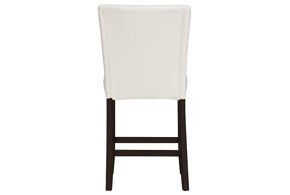 """Delano WHITEBONDED LTR 24"""" Upholstered Barstool"""