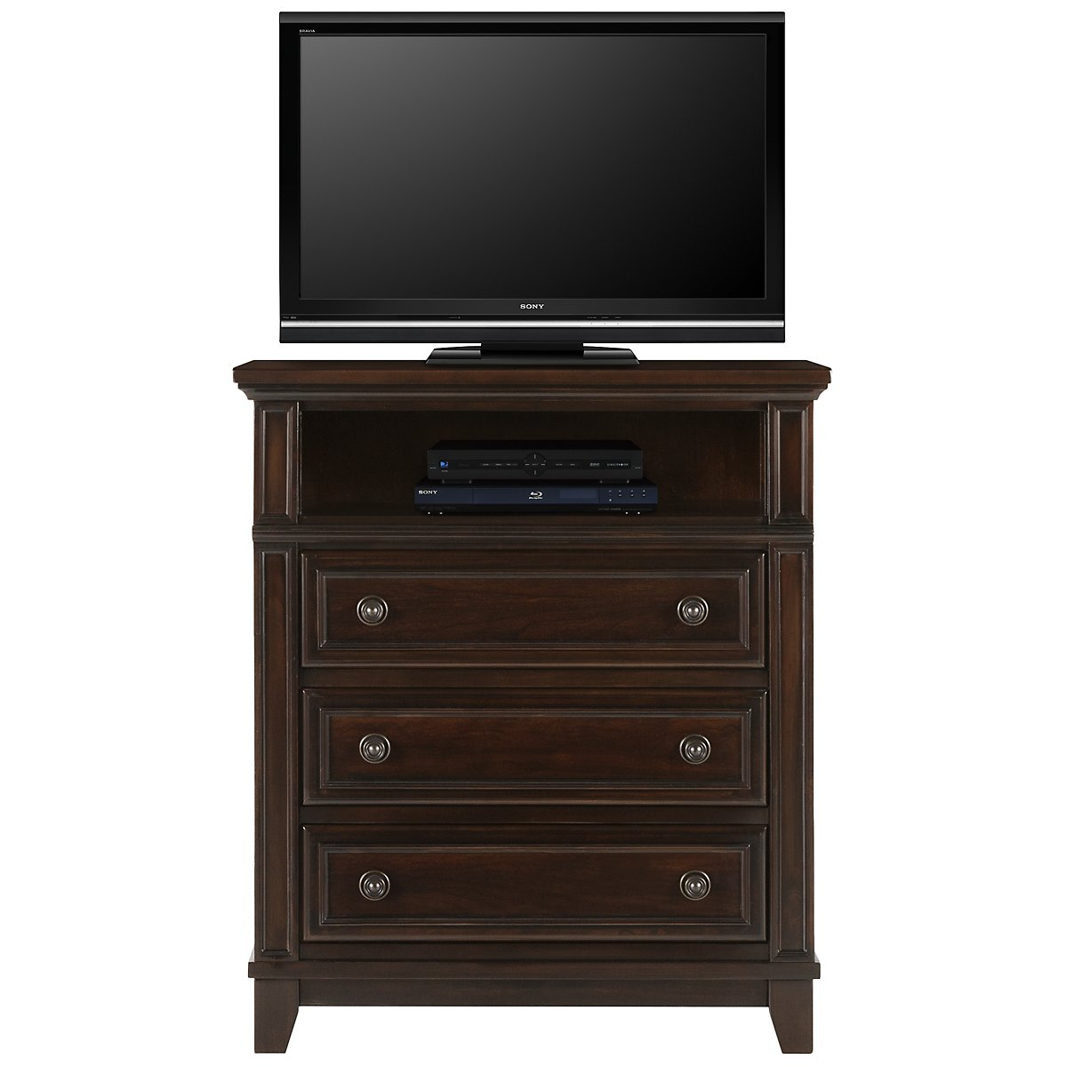 Harwich Dark Tone Media Chest
