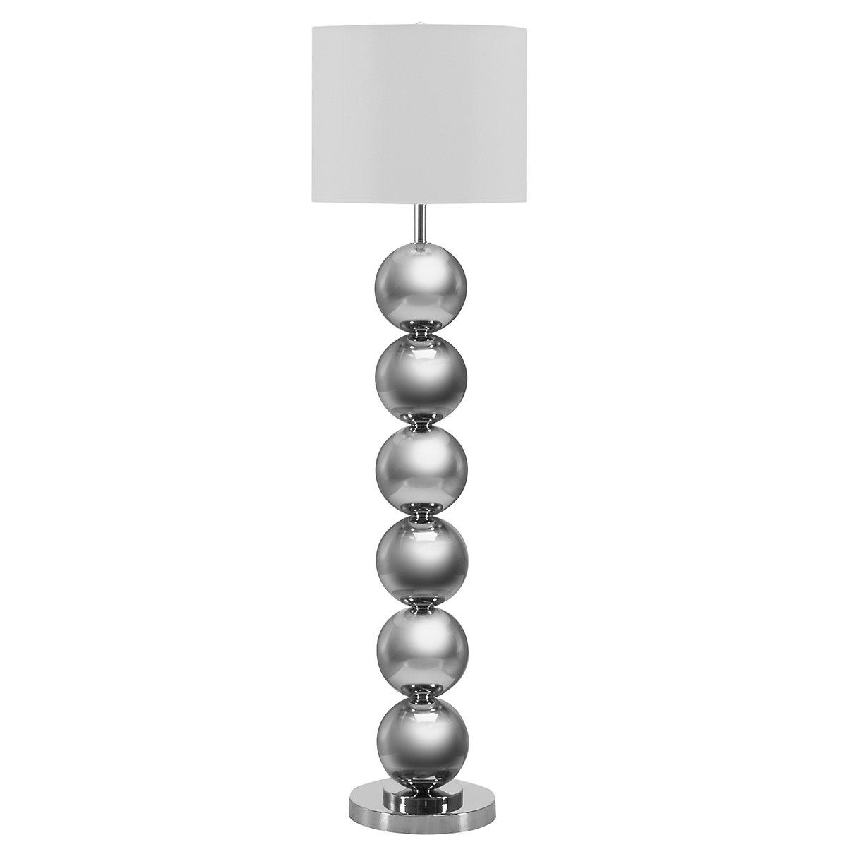 Run Forever Silver Floor Lamp