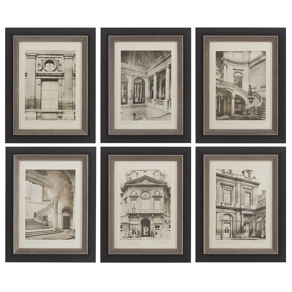 Paris Set Of 6 Framed Wall Art