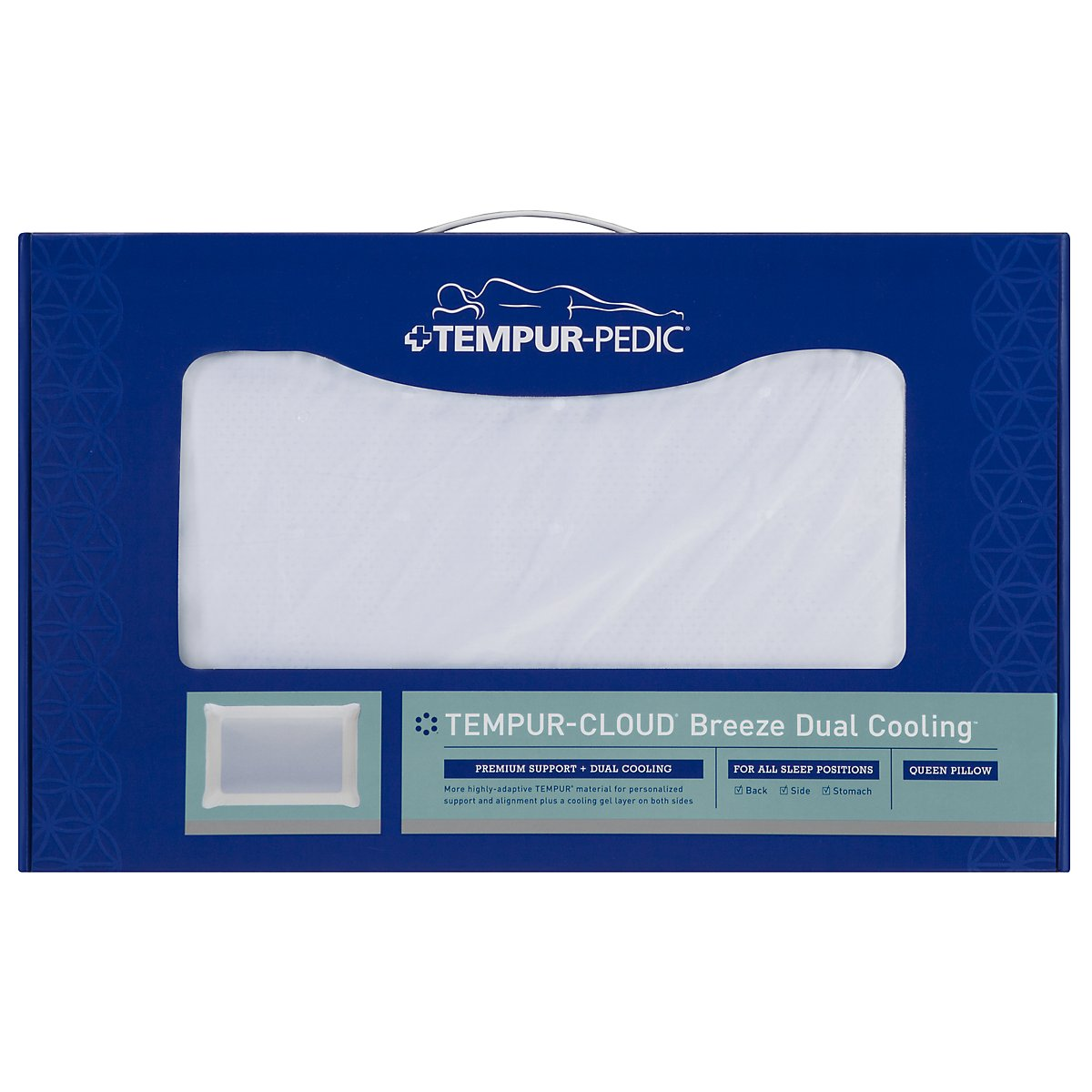 TEMPUR-Cloud® Breeze Dual Cooling TEMPUR® Pillow