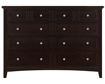 Captiva Dark Tone Large Dresser