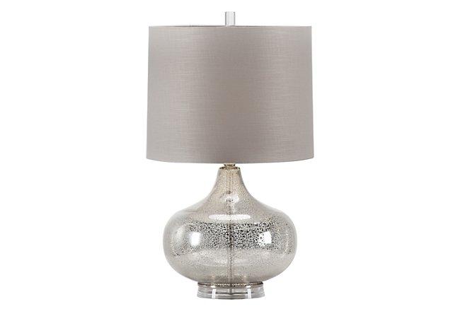 Mason Silver Table Lamp
