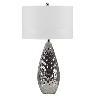 Brielle Silver Table Lamp