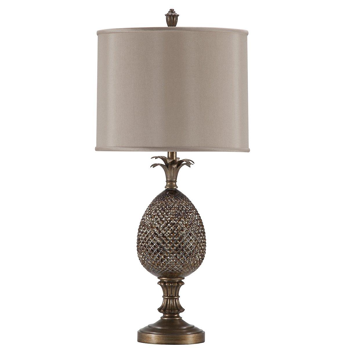 Pineapple Bronze Table Lamp